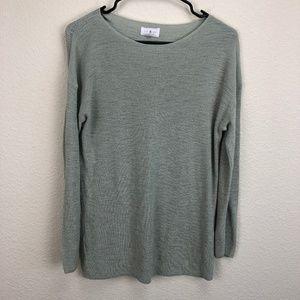 Lou & Grey Light Green  Sweater Size Small